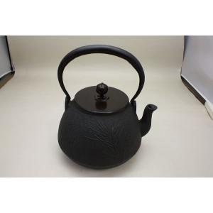 鉄瓶(松地紋)長閑形|imaya-storo