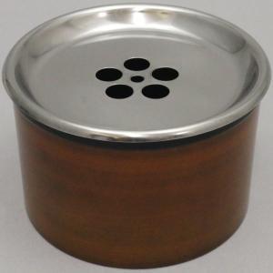 煎茶道具 建水 茶こぼし ステンレス内棚付 本体ユリア樹脂|imaya-storo