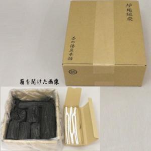 茶道具 お炭 茶道炭 炉用 組炭 くぬぎ炭 菊炭 枝炭付 約1組 国産製|imaya-storo
