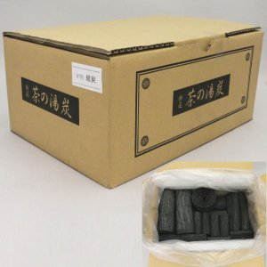 茶道具 お炭 茶道炭 炉用 組炭 くぬぎ炭 菊炭 約3組 国産製|imaya-storo