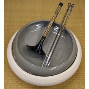 茶道具 炭道具 炭所望 七事式 半田焙烙 一双 長火箸 底取り付 表千家|imaya-storo
