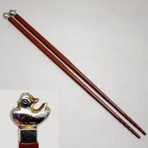 茶道具 炭道具 火箸 皆具 飾火箸 飾り火箸 鳥頭|imaya-storo