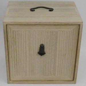 茶道具 お棚 長板 色紙箱 焼桐 8寸5分|imaya-storo