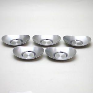 煎茶道具 煎茶器 茶托 茶たく 定番 小判型 小 5枚組 秀峰堂製 3寸 C-28 imaya-storo