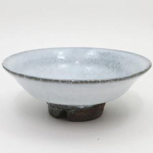 「茶器/茶道具 抹茶茶碗」 平茶碗 青萩焼茶碗 割高台 納富尚作|imaya-storo