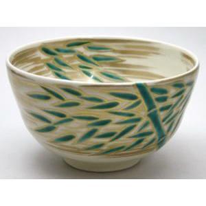 茶道具 抹茶茶碗 竹風の絵 久世久宝作|imaya-storo