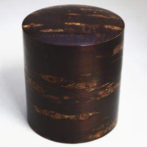 「茶筒」 総桜皮 平 150g用 国産製品(秋田角館) imaya-storo