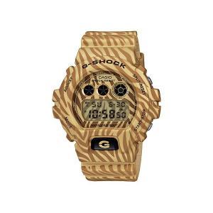 カシオ CASIO Gショック G-SHOCK 逆輸入 デジタル メンズ 腕時計 DW-6900ZB-9 ゴールド ゼブラカモフラ−ジュ
