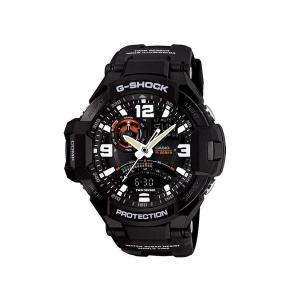 カシオ CASIO Gショック SKY COCKPIT スカイコックピット アナデジ メンズ 腕時計 GA-1000-1A ブラック