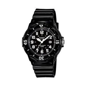 カシオ CASIO 逆輸入 スポーツ ダイバールック レディース 腕時計 LRW-200H-1B ブラック ラバーベルト