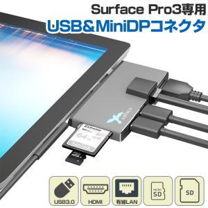 Surface Pro3 専用 USB3.0 HDMI LAN ポート & カードリーダー USB ...