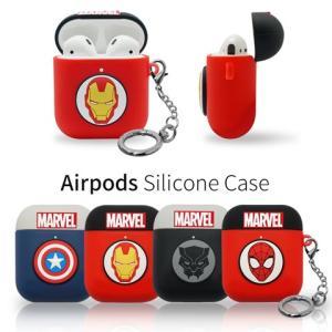 マーベル MARVEL airpods ケース ツートン キャプテンアメリカ ロゴ