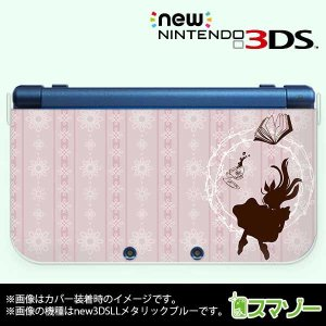 (new Nintendo 3DS 3DS LL 3DS LL ) アリス3 ピンク 不思議の国 かわいい カバー