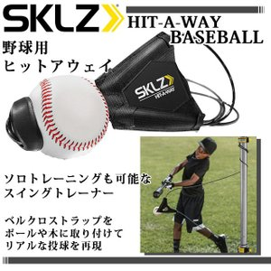 スキルズ 野球 バッティング練習用 ヒットアウェイ 硬式ボール・バット専用 009591 SKLZ スイング技術と打撃バランスをトレーニング
