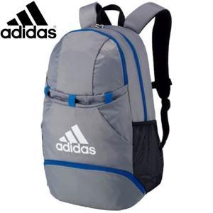 アディダス バッグ メンズ レディース ユニセックス ボールヨウデイパック シルバー/アオ バックパック BAG トレーニングバッグ サッカー フット|imoto-sports