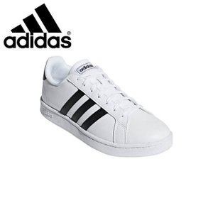 アディダス メンズ レディース スニーカー GRANDCOURTLEAU カジュアル シューズ 定番 靴 ホワイト ユニセックス adidas F36|imoto-sports