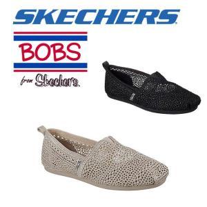 ☆スケッチャーズ レディース スリッポン シューズ スニーカー 靴 ボブス BOBS Plush skechers 31489|imoto-sports