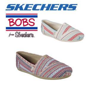 ☆スケッチャーズ レディース スリッポン シューズ スニーカー 靴 ボブス BOBS PLUSH - LIL FOX skechers 34161|imoto-sports
