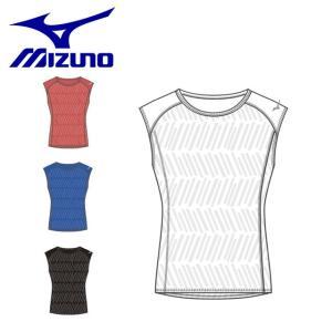 ネコポス ミズノ メンズ ランニング シャツ ノースリーブ 袖なし JACQUARD フレンチスリーブ シャツ 軽量 通気性 マラソン ジョギング J2MA92 imoto-sports