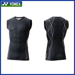 YONEX ヨネックス テニス・バドミントン ウェア STBP1012 ノースリーブシャツ ユニセックス|imoto-sports