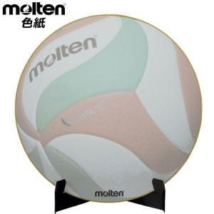 モルテン アクセサリー 色紙 サイン色紙 バレーボール molten XA0110V 合紙 備品