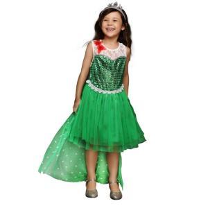 アナと雪の女王 ドレス コスプレ 子供服 エルサ風 子供用 ...