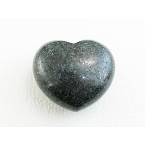 天然石 ストーンヘンジの石 <プレセリブルーストーン> ハート パワーストーン (シリアルNo入り証明書付き)
