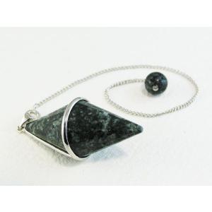ストーンヘンジの石<プレセリブルーストーン>ペンデュラム 約45mm×20mm 送料無料 ダウジング ヒーリング 天然石 パワーストーン