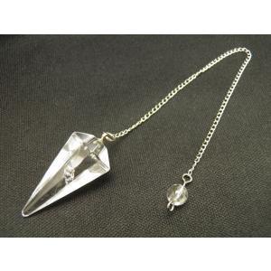 天然石 ペンデュラム 水晶(クリスタル) パワーストーン ダウジング ヒーリング カット型ペンデュラム