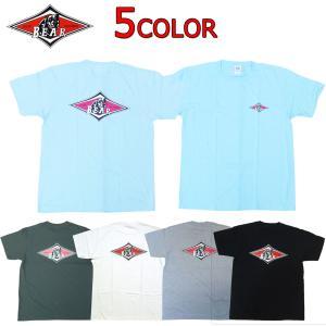 BEAR ベアー 定番ロゴ半袖Tシャツ サーフィン ビッグウェンスデーで有名な人気ブランド|imperialsurf