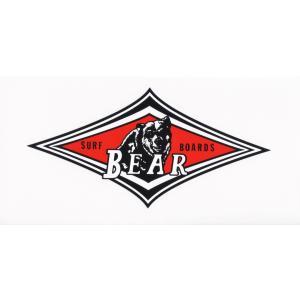 BEAR ベアー 人気定番ステッカー M サーフィン ビッグウエンズデー|imperialsurf