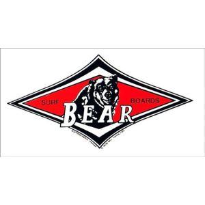 BEAR ベアー 人気定番 ステッカー S サーフィン ビッグウエンズデー|imperialsurf