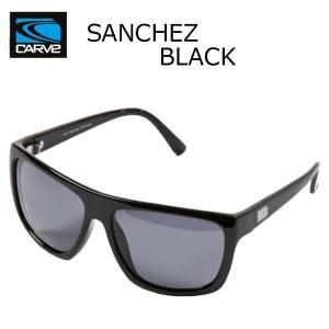 CARVE (カーブ)SANCHEZ BLACK サングラス UV偏光レンズ POLARIZED LENS サーフィン人気ブランド|imperialsurf