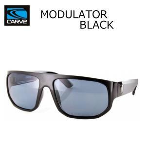 CARVE (カーブ)MODULATOR BLACK サングラス UV偏光レンズ POLARIZED LENS サーフィン人気ブランド|imperialsurf