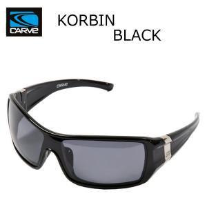 CARVE (カーブ)KORBIN BLACK サングラス UV偏光レンズ POLARIZED LENS サーフィン人気ブランド|imperialsurf