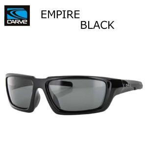 CARVE (カーブ)EMPIRE BLACK サングラス UV偏光レンズ POLARIZED LENS サーフィン人気ブランド|imperialsurf