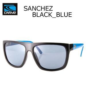 CARVE (カーブ)SANCHEZ BLACK/BLUE サングラス UV偏光レンズ POLARIZED LENS サーフィン人気ブランド|imperialsurf
