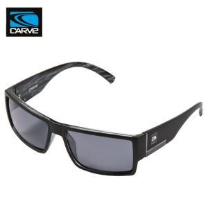 CARVE (カーブ)SHADY サングラス UV偏光レンズ POLARIZED LENS MATT BLACK サーフィン人気ブランド|imperialsurf