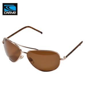 CARVE (カーブ)TOPDOG サングラスGOLD UV偏光レンズ POLARIZED LENS サーフィン人気ブランド|imperialsurf