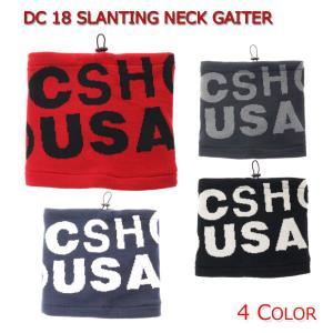 DC SHOES ディーシー メンズ用ネックウォーマー 18 SLANTING NECK GAITER 5430j818|imperialsurf