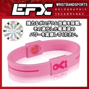 EFXイーエフエックス リストバンドスポーツ パフォーマンス日本正規品 ピンクリボン|imperialsurf