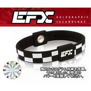 EFX イーエフエックスリストバンドスポーツ パフォーマンス 日本正規品  Black & white Checker|imperialsurf