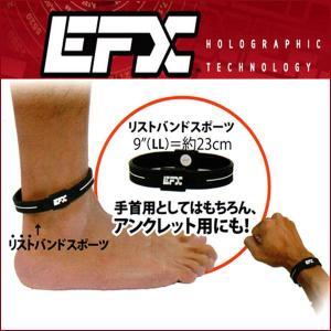 EFXイーエフエックス リストバンドスポーツ パフォーマンス日本正規品 black&white LLサイズ|imperialsurf