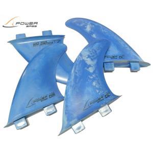 power base fin(パワーベースフィン) QuadSet ArmourFlex マーブル|imperialsurf