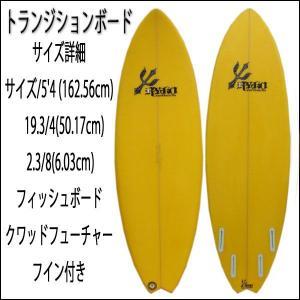 サーフボード サーフ ボード フィッシュボード ショート トランジッションボード 5'4|imperialsurf