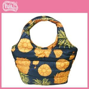 フラハワイ HulaHawaii HL中綿ミニトートバッグ パイナップル柄  フラレファ 人気ブランド|imperialsurf