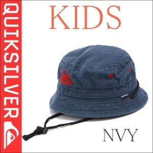 クイックシルバー 子供用帽子 KHT31352 キッズアウトドア コットンハット ネイビーサーフィン|imperialsurf