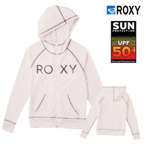 ロキシーROXY UVカット ロゴ ラッシュガードパーカ RASHIE PARKA レディース|imperialsurf