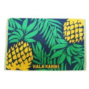 hulahawaii hula Lehua/フラハワイ フラレファ HL H タオルミニバスマット ホヌ/ティアレ/パイン|imperialsurf