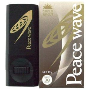 PEACE WAVE(ピースウェーブ) 日焼け止め UVフェイススティック SPF38 PA++ タン 10g|imperialsurf